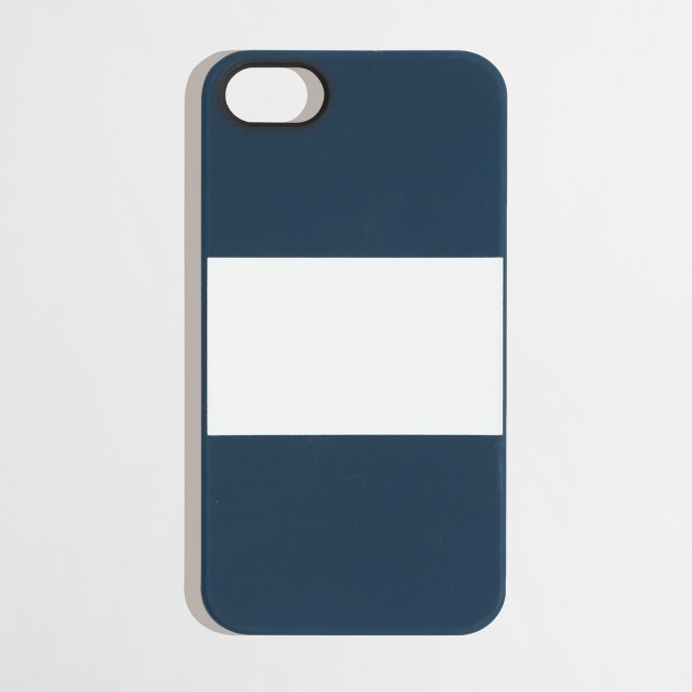 Factory colorblock phone case for iPhone® 5/5s
