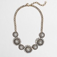 Factory crystal spiral necklace