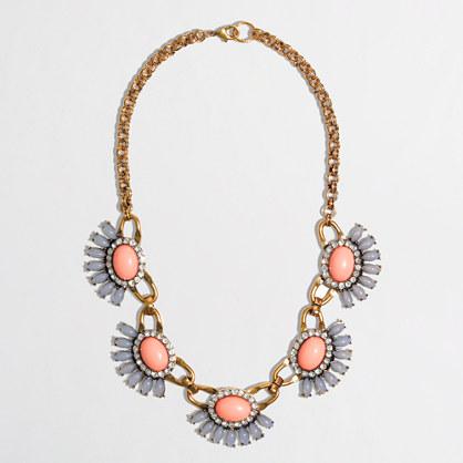 Factory half-flower fringe necklace
