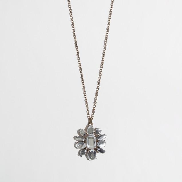 Factory crystal brooch pendant