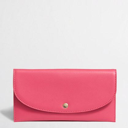 Factory snap envelope wallet