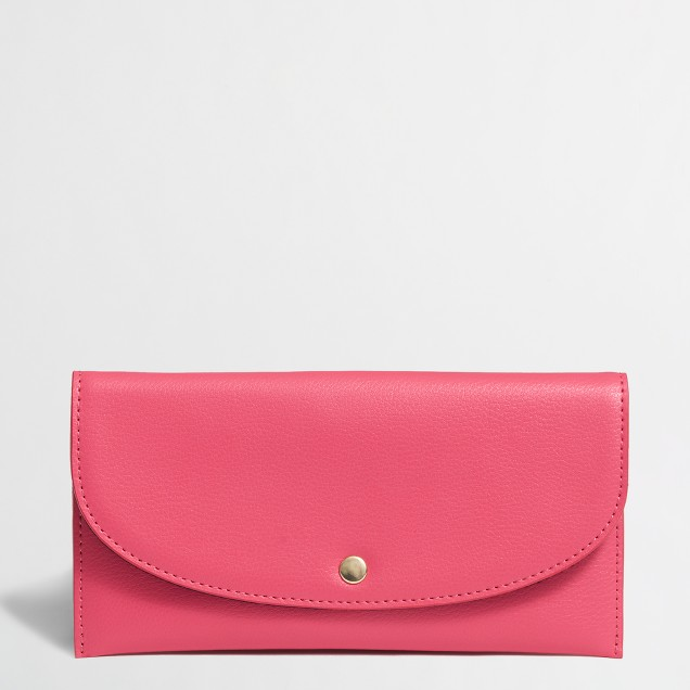 Factory snap envelope wallet