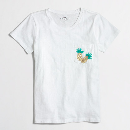 Factory pineapple pocket collector tee
