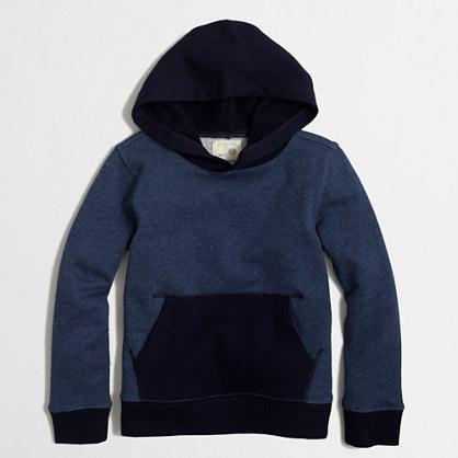 Boys' colorblock popover hoodie
