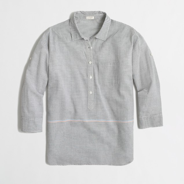 Factory placed-stripe popover