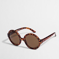 Factory girls' round sunglasses