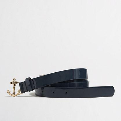 Factory anchor buckle belt