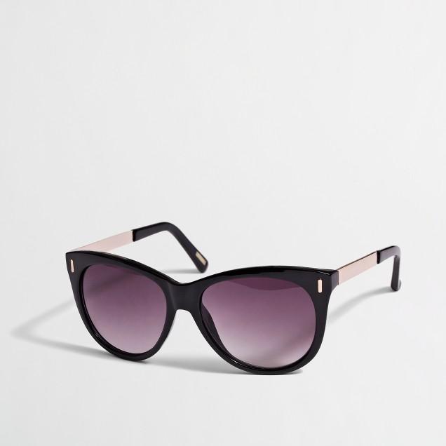 Factory cat-eye glasses
