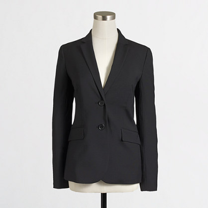 Suiting blazer in lightweight wool