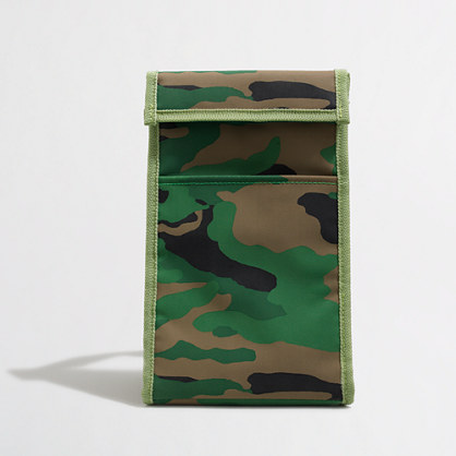 Factory kids' camo lunchbox