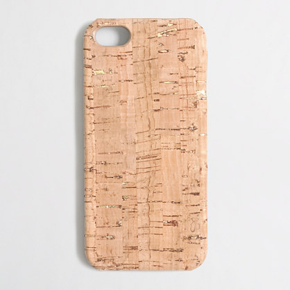 Factory cork phone case for iPhone 5