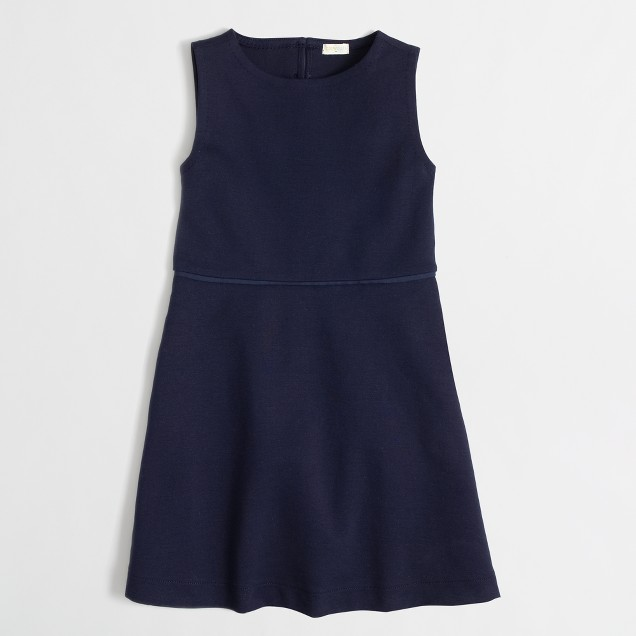 Factory girls' heart cutout dress