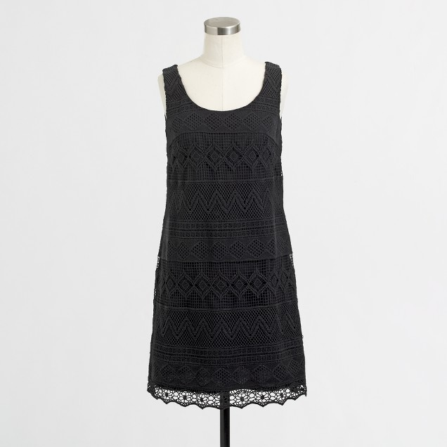 Factory crochet tank dress