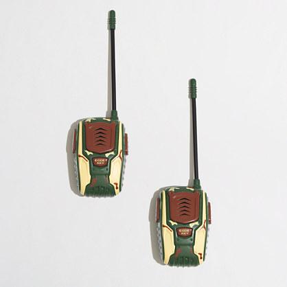 Toysmith™ kids' camo walkie talkies