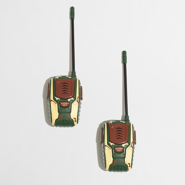 Toysmith™ kids' camo walkie talkies