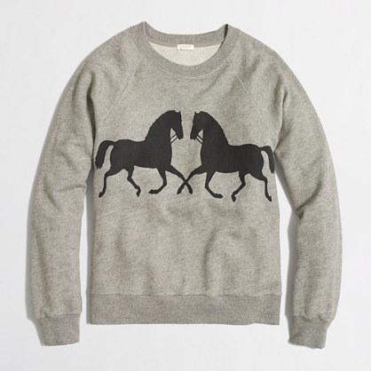 Factory gallop sweatshirt