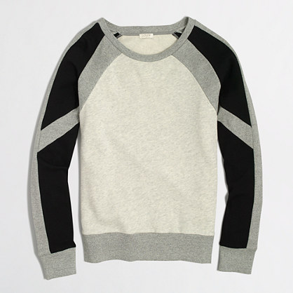 Colorblock sweatshirt