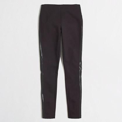 Factory leather-stripe Gigi pant