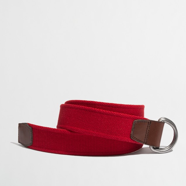 Factory cotton webbing belt