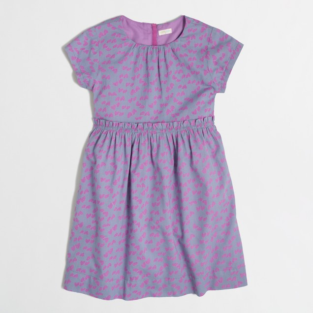 Factory girls' heart dress