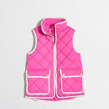 Factory kids' puffer vest