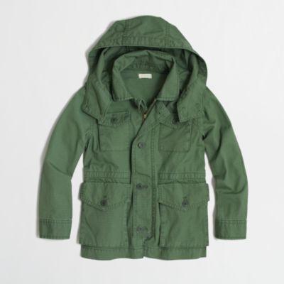 Factory boys' ripstop military jacket : FactoryBoys Coats ...