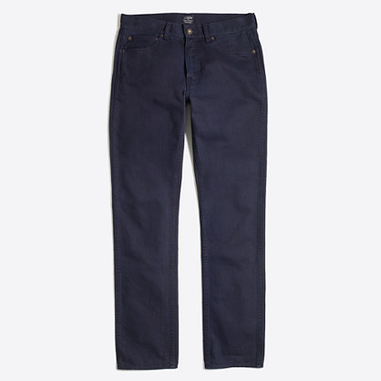 Sutton garment-dyed jean