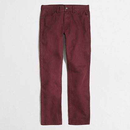 Sutton garment-dyed jean