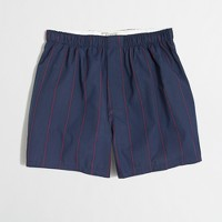 Factory thin-stripe boxers