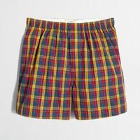 Plaid boxers