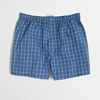 Factory multiplaid boxers