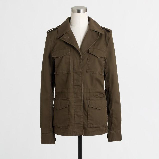 Factory pocket utility jacket