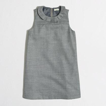 Factory girls' ruffle-collar dress