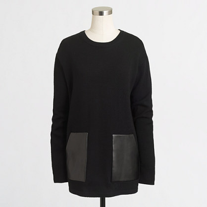 Factory merino pocket tunic