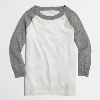 Factory merino baseball sweater