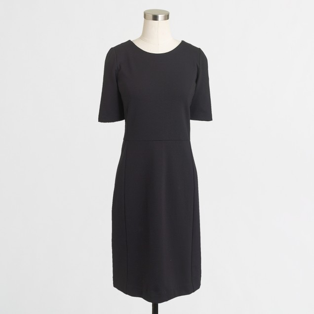 Factory paneled ponte dress