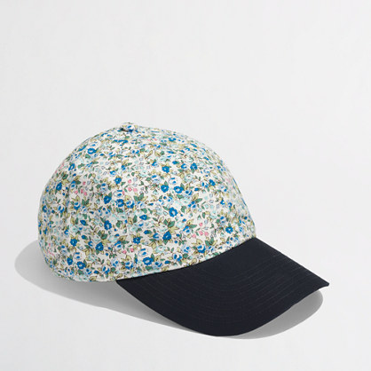 factory floral baseball cap hats j crew factory