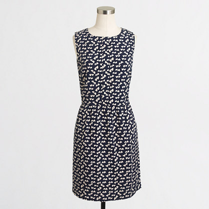 Factory scattered hearts dress