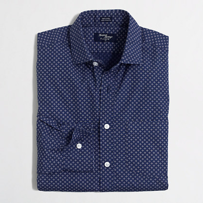 Thompson printed dress shirt