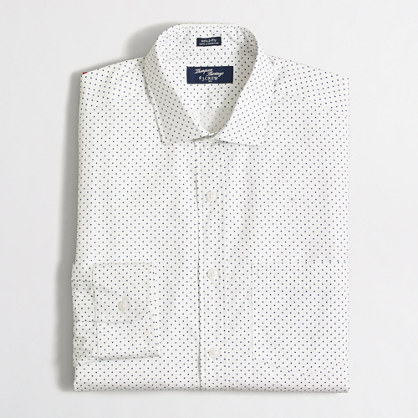 Factory Thompson printed dress shirt
