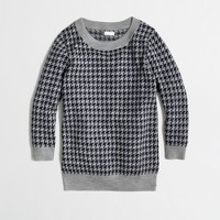 Factory Charley sweater in houndstooth
