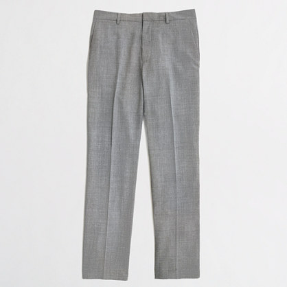 Factory Thompson suit pant in lightweight wool
