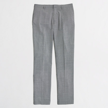 Factory Thompson slim suit pant in lightweight wool