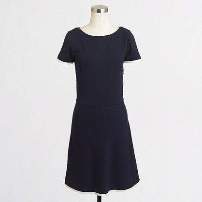 Factory tipped ponte dress