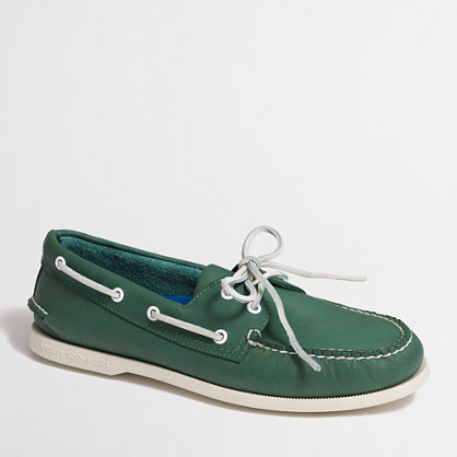 Sperry Top-Sider® for J.Crew authentic original 2-eye boat shoes