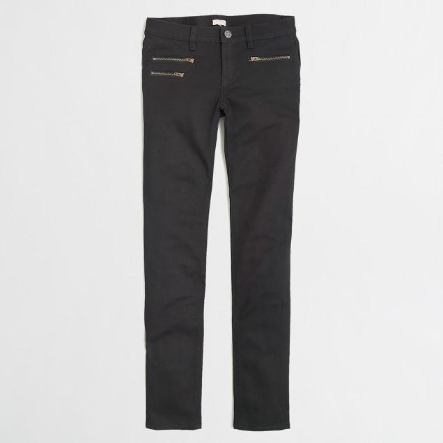 Factory skinny jean in black