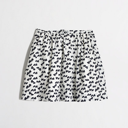 Factory girls' heart skirt