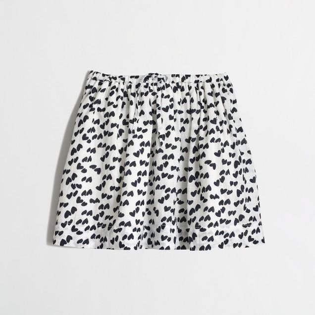 Factory girls' heart skirt