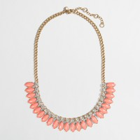 Factory stone seed necklace