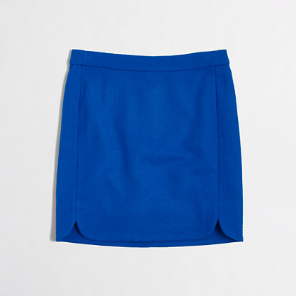 Factory shirttail mini